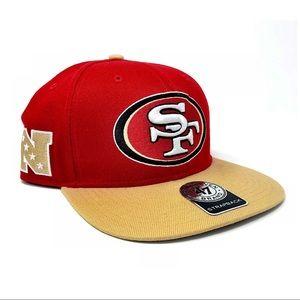 49ERS FOOTBALL '47 Brand Super Shot Two Tone Hat